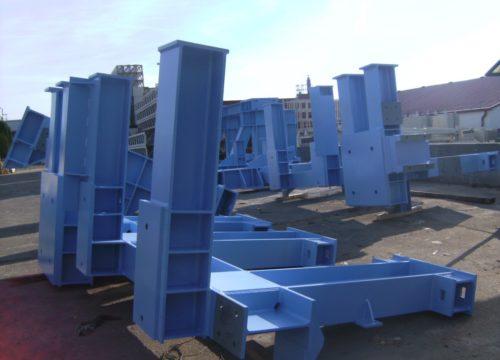 BWG GmbH – Acélszerkezet Németország 2014