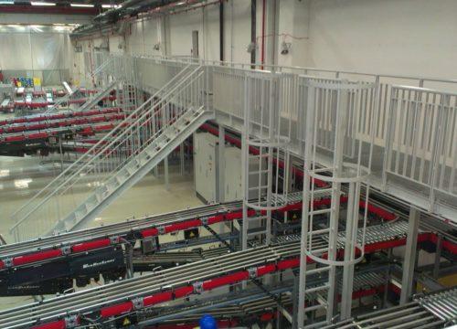 Control Tower helyiség és kezelőjárda acélszerkezet (Nyíregyháza) 2014 1